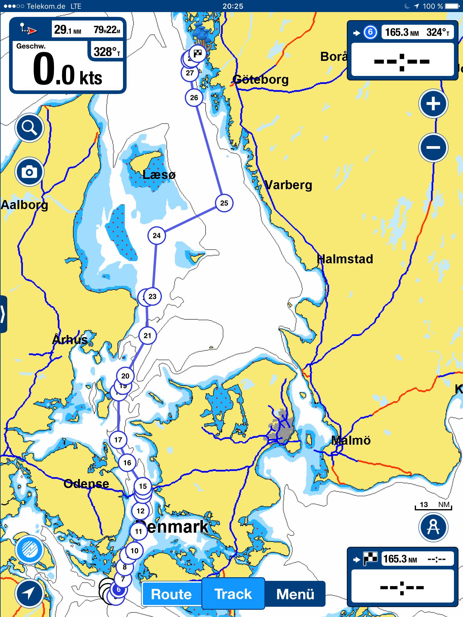 Anreise nach Westschweden